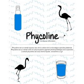 Phycoline : Extrait phycocyanine